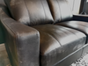 Redford II Leather Loveseat