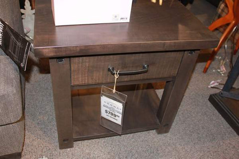 Adirondack One-Drawer End Table