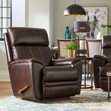 754 Talladega Leather Rocker Recliner