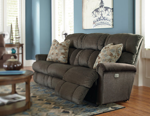 La Z Boy Power Reclining Sofa Living Room Sofas Conway