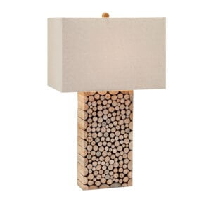 59262 Cynder Wood Table Lamp