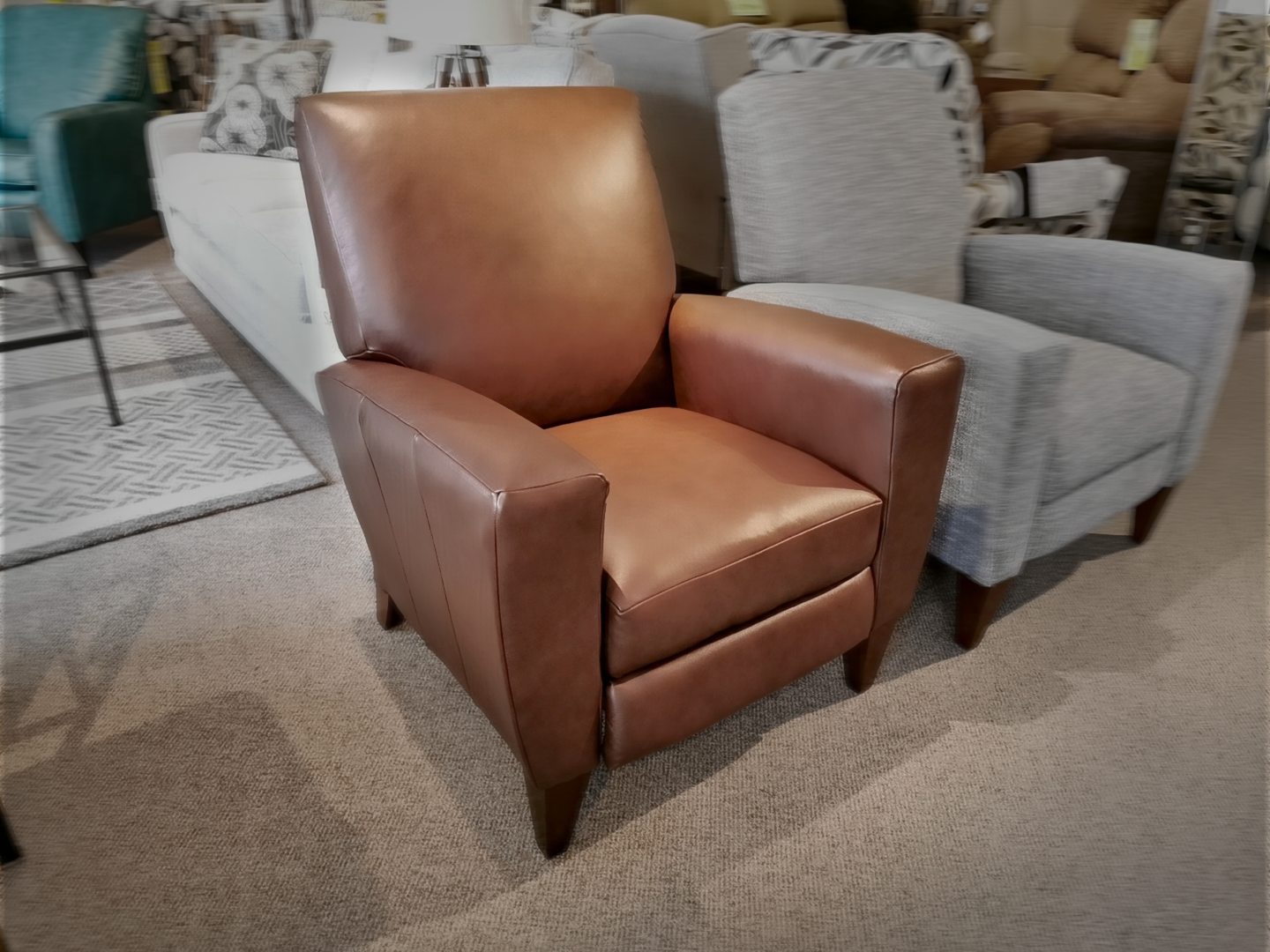 Picture of: 431 Scarlett Leather Recliner Conway Furniture