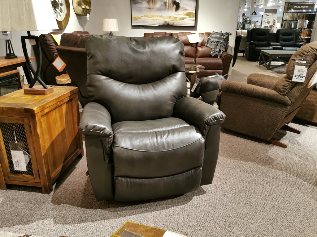 521 James Leather Rocker Recliner