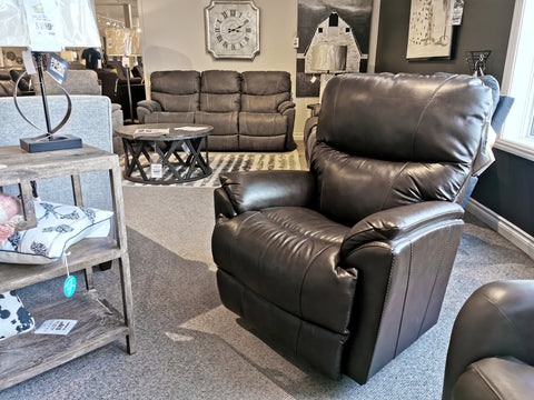 724 Trouper Leather Rocker Recliner