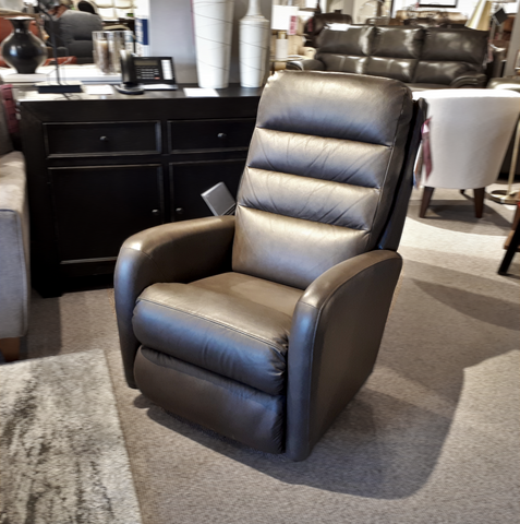 744 Forum Leather Rocker Recliner