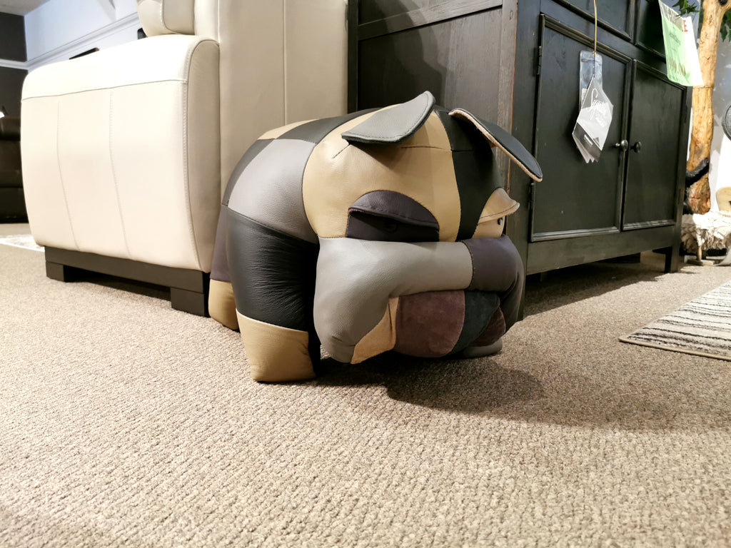 Reiner's Leather Animal Ottomans