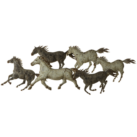 138808 Horse Metal Wall Decor