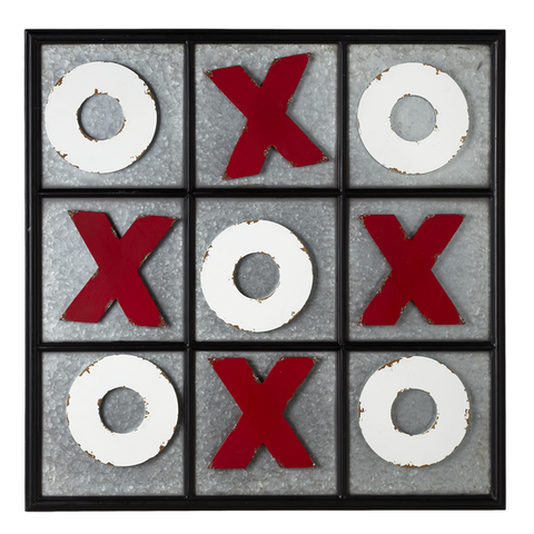139843 Tic Tac Toe Magnetic Wall Board