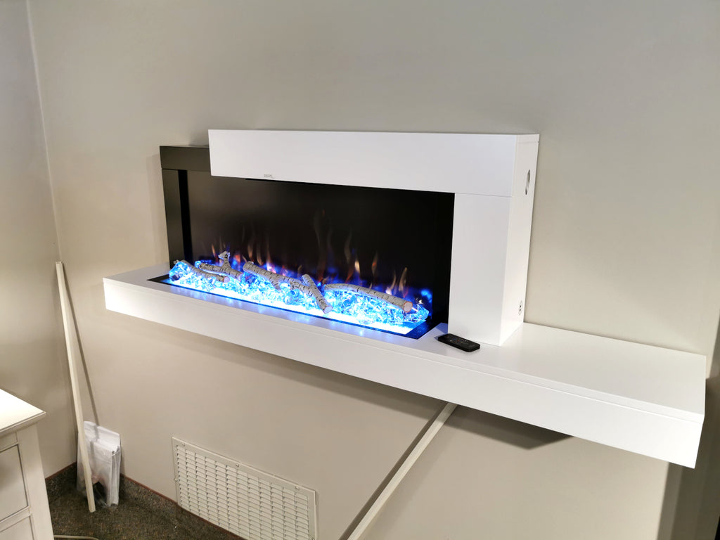 Stylus Fireplace Console Wall-Mount