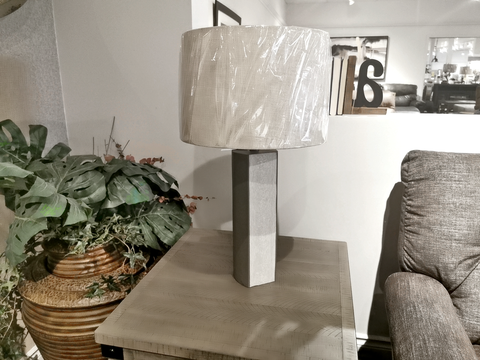 10093G6A Rumina Cement Table Lamp