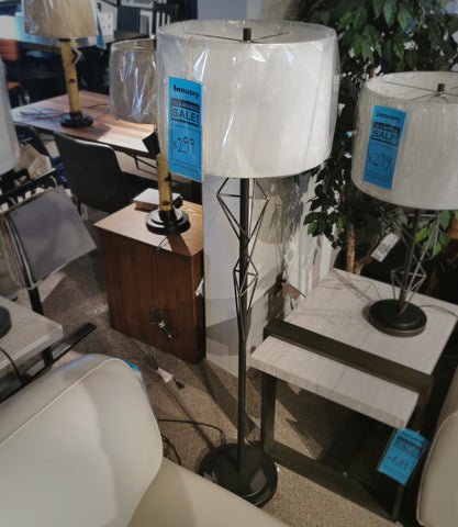 87-3144-22 Geometric Floor Lamp