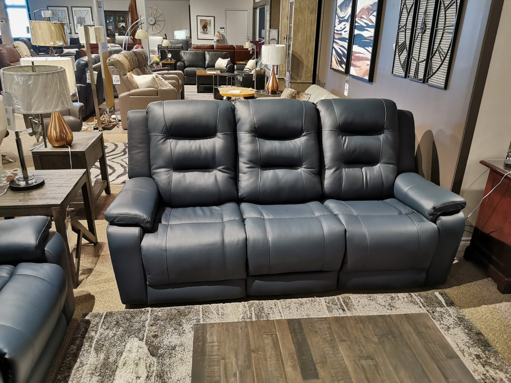 41063 Leightion Leather Power Sofa