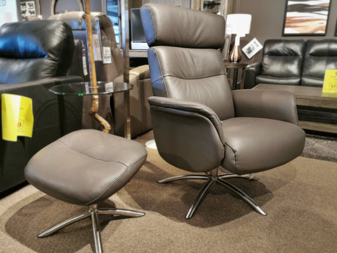 50004/5 Quantum Swivel Recliner & Ottomans