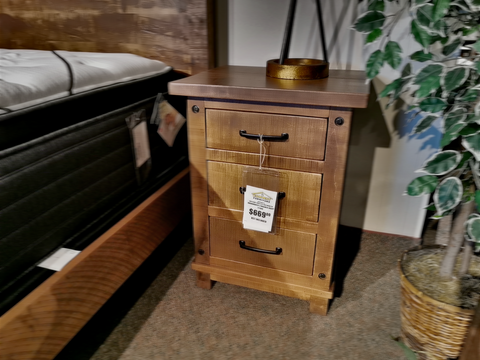 Adirondack Maple Nightstand