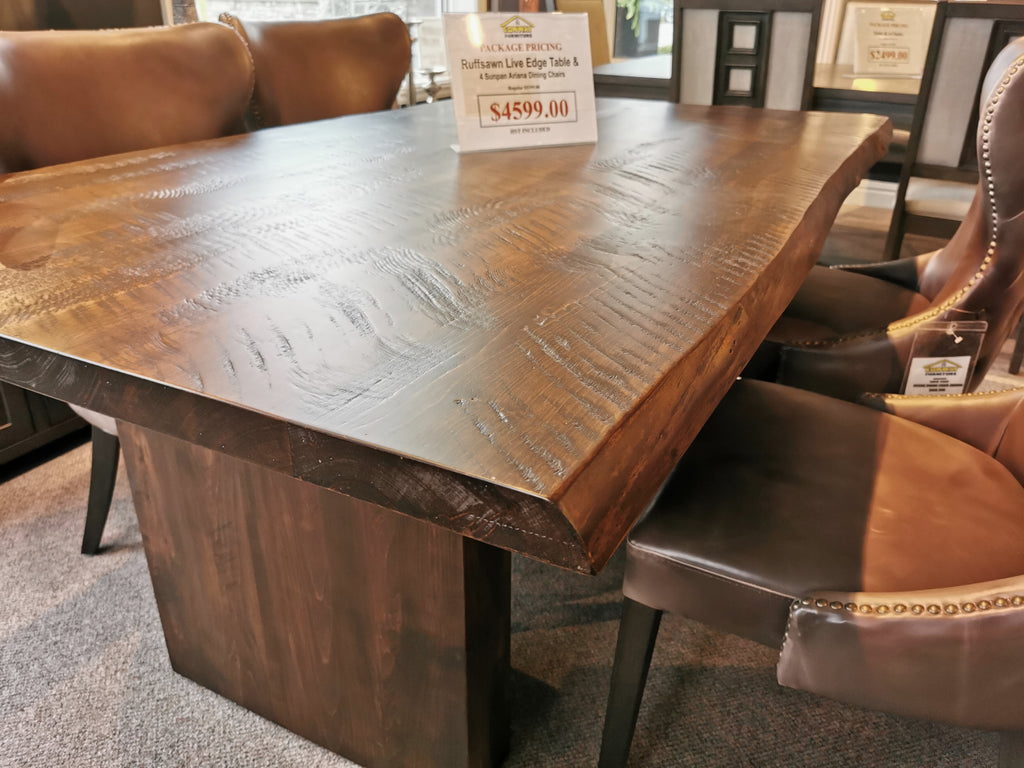 Live Edge 'Summer-Cut' Dining Table