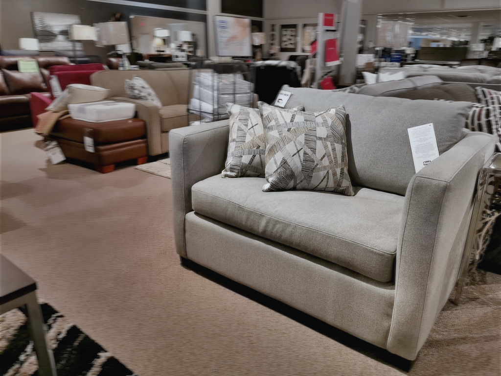 Peachy 1029 53 Alexis Chair And A Half Sofa Bed Conway Furniture Download Free Architecture Designs Rallybritishbridgeorg