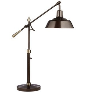 Spot On Adjustable Downbridge Table Lamp