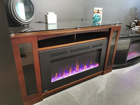 Shelton Fireplace Unit