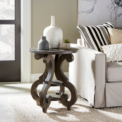 2491 Bellamy Round Accent Table