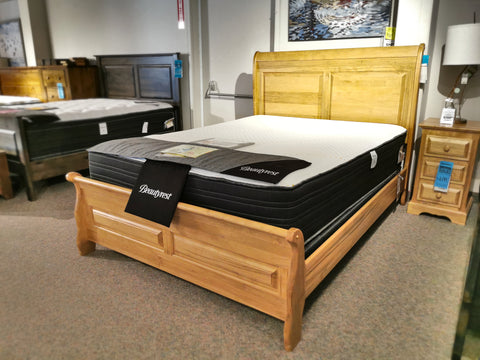 282 Thomas Sleigh Bed Maple