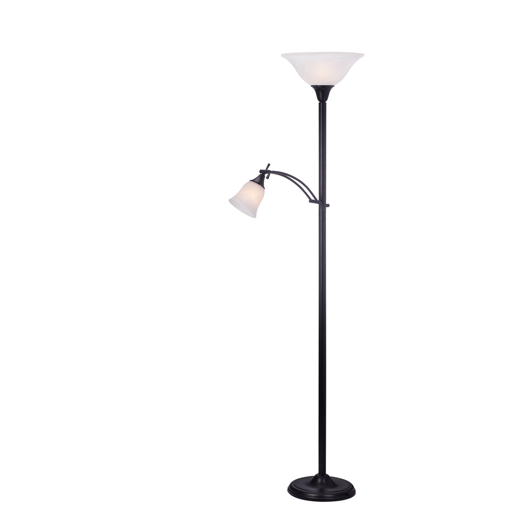 W-1436 Black Floor Lamp
