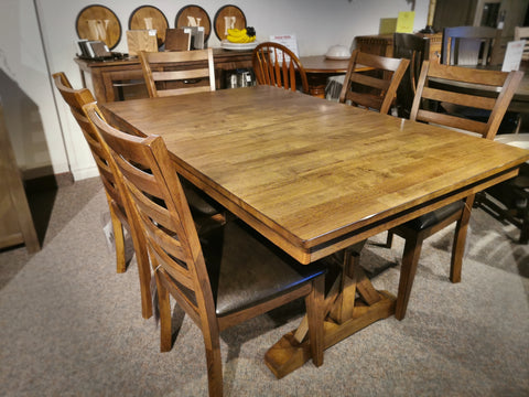 "Newport 78"" Pedestal Dining Table"
