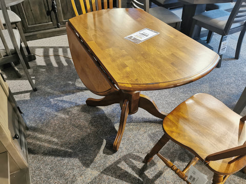 "42"" Round Drop-Leaf Table"