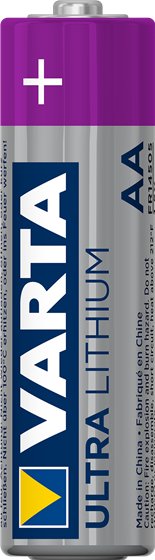 Varta Ultra Lithium AA Battery 4 Pack