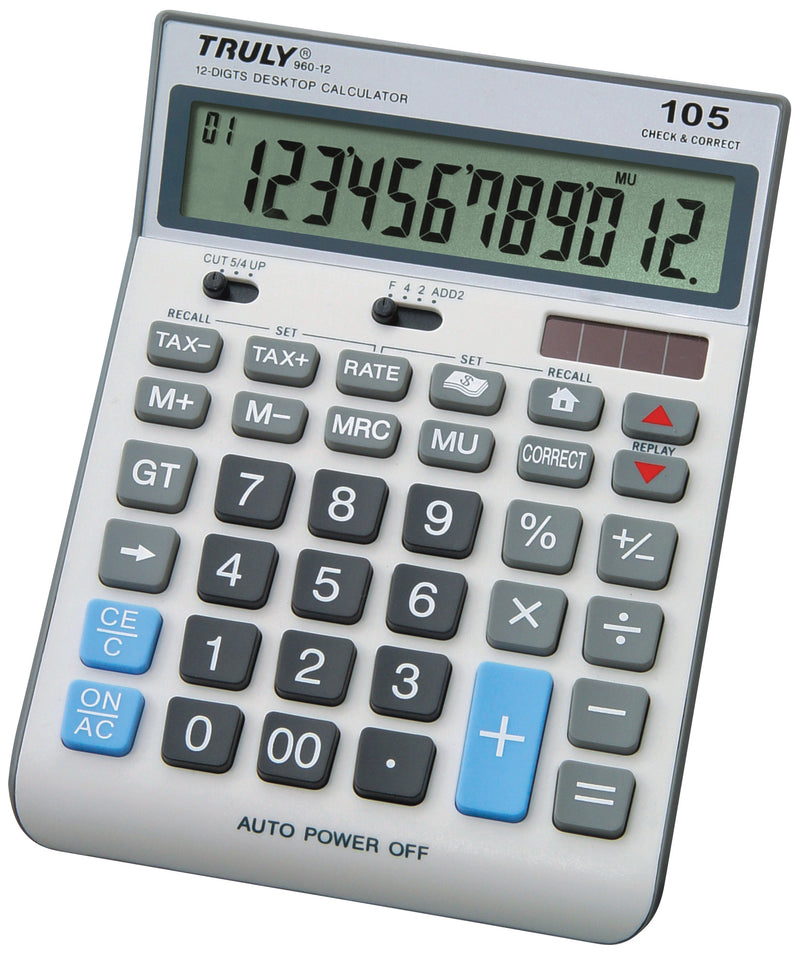 Truly 960 - 12 Digit Desktop Check & Correct