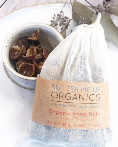 organic soap nuts for natural laundry detergent