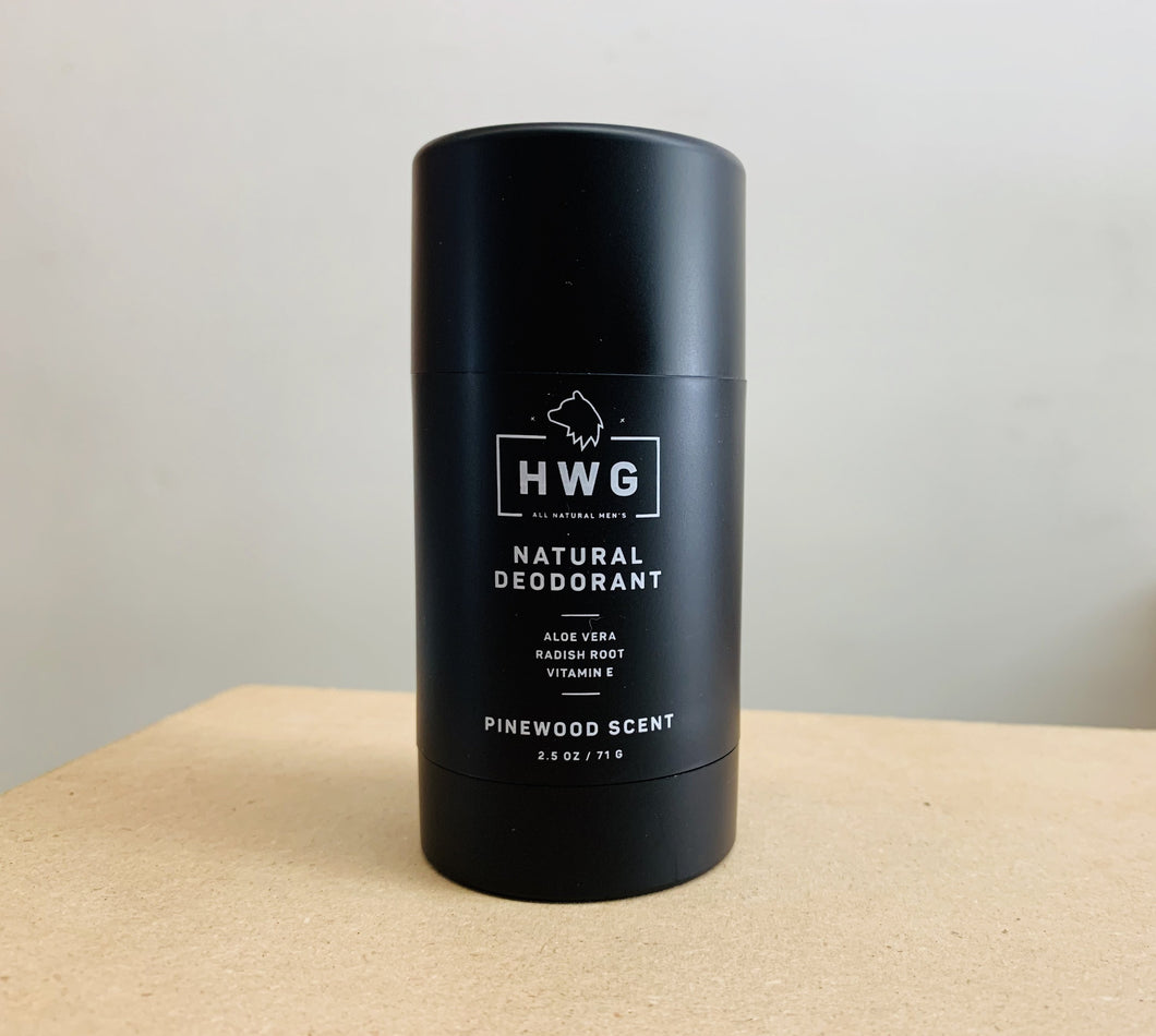 Natural deodorant for men