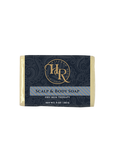 natural scalp and body soap for men and women