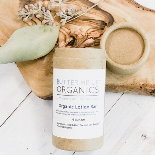 butter me up organic lotion bar