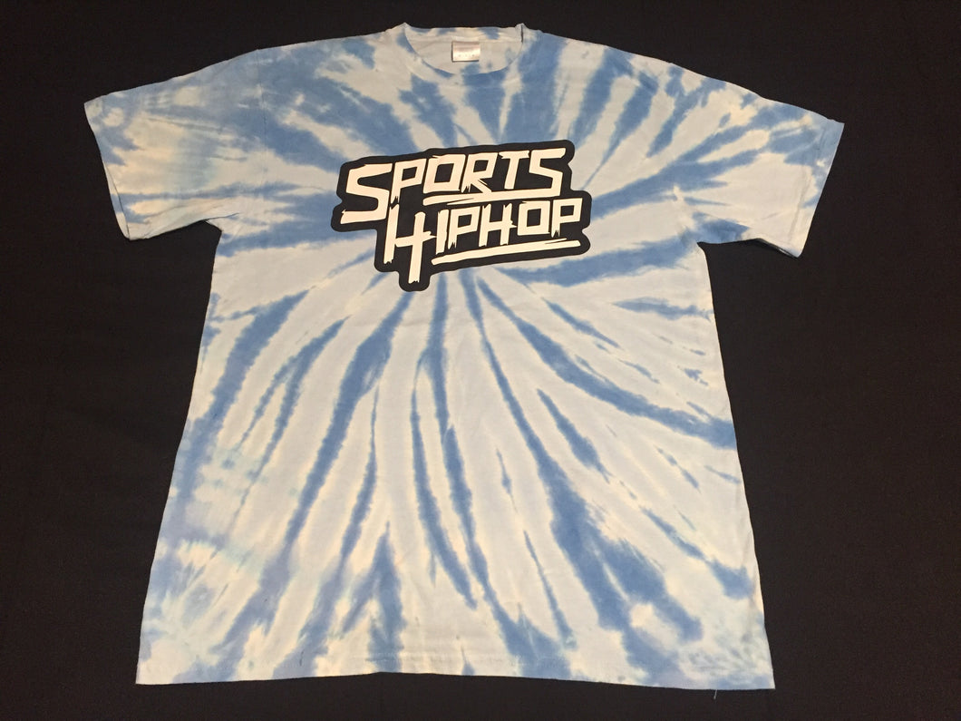*LIMITED EDITION* SportsHiphop Tie-Dye Tee (Light Blue)