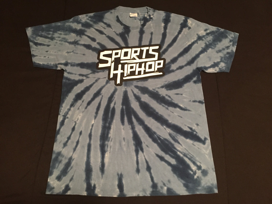 *LIMITED EDITION* SportsHiphop Tie-Dye Tee (Navy)
