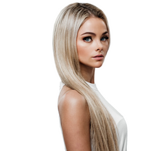 "Load image into Gallery viewer, 20"" Tape-In Champagne Highlight Blonde #18/60/PB"