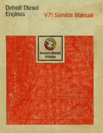 Detroit Diesel V-71 Service Manual