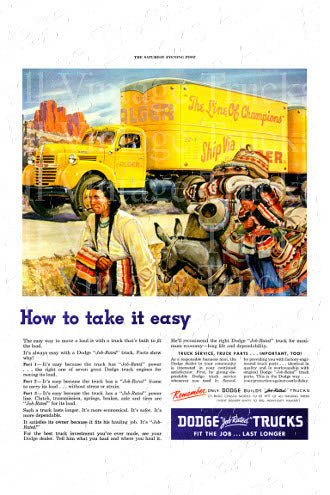 Vintage Poster - Dodge - How To Take It Easy