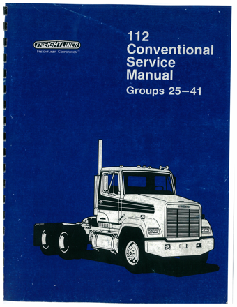 Freightliner Service Manual Groups 25-41