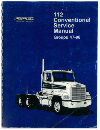 Freightliner Service Manual Groups 47-98.