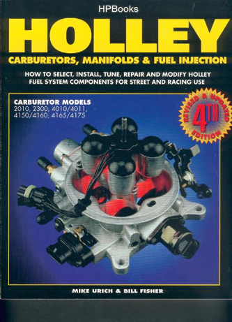 Holly Carburetors, Manifolds and Fuel Injection