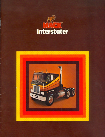 Mack F Model Interstater Catalog-1978