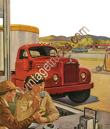 Mack Vintage Poster-Mack's got it!