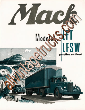Mack Models LFT and LFSW Catalog