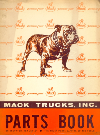 Mack Parts Book for DM-600 Series