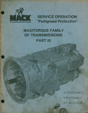 Maxitorque Transmissions-Service Manual 3