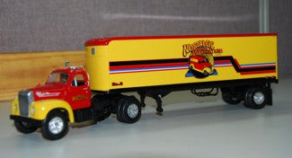 Nostalgic Mack B-61 Tractor Trailer First Gear