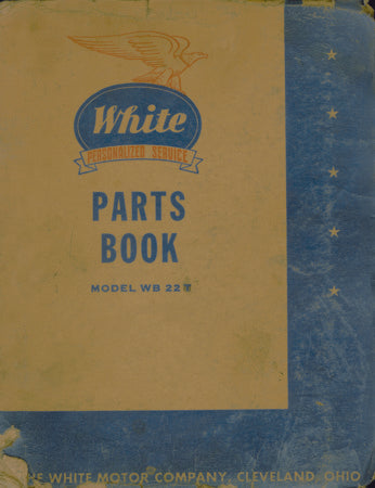 White Parts Book for Model WB 22T