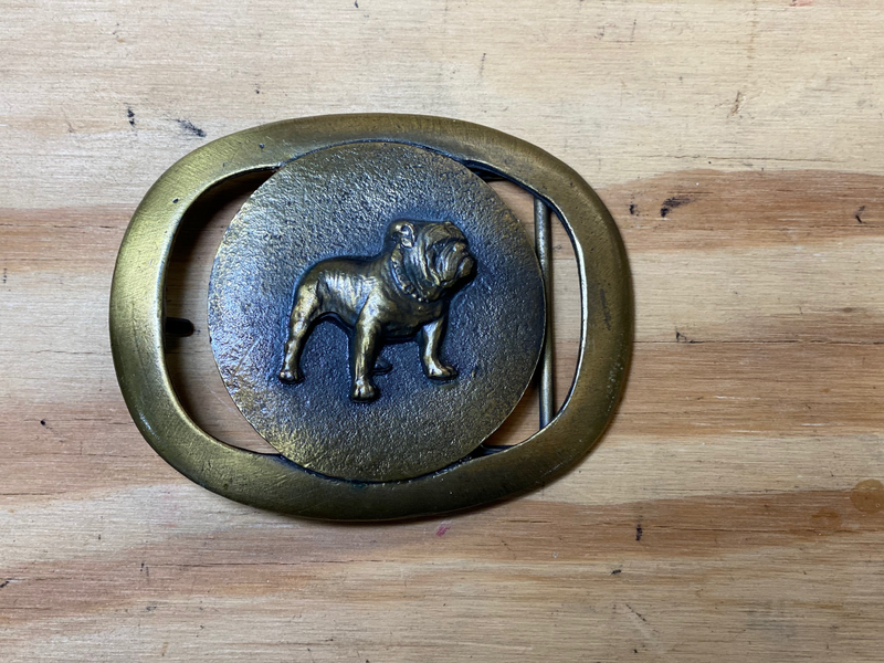 Vintage Mack Belt Buckle
