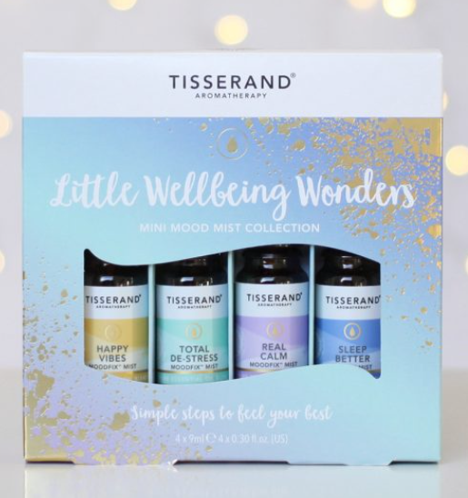 Tisserand Little Wellbeing Wonders Mini Mood Mist Collection